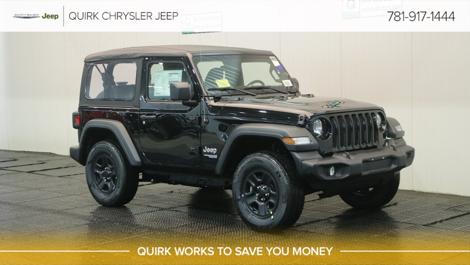 New 2019 Jeep Wrangler Sport Sport Utility In Braintree J18612