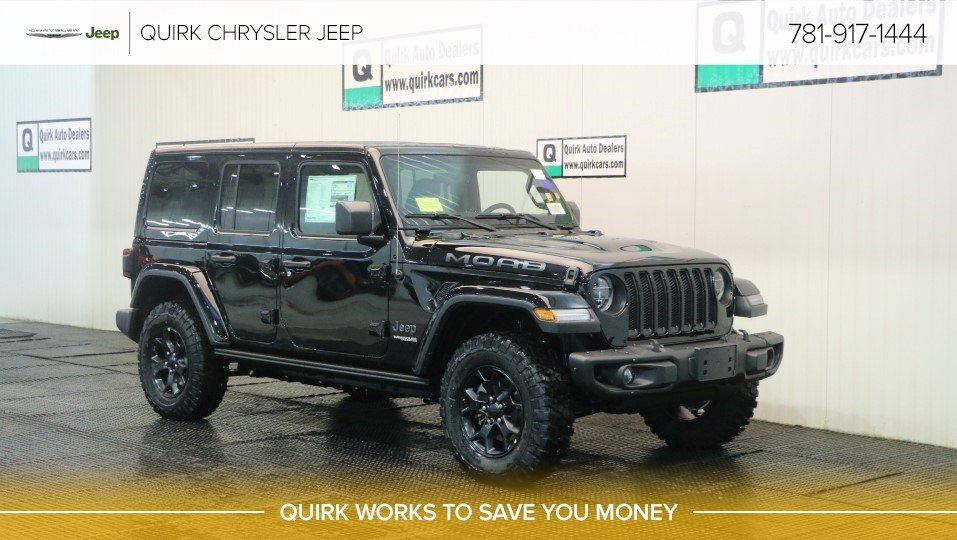 New 2019 Jeep Wrangler Moab Sport Utility In Braintree J18731