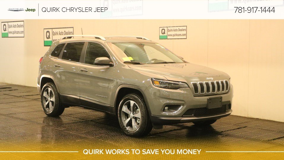 New 2019 Jeep Cherokee Limited Sport Utility In Braintree J18799