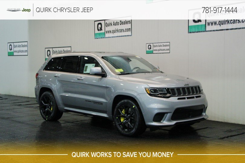 New 2019 JEEP Grand Cherokee Trackhawk Sport Utility in Braintree ... d6518008d7e